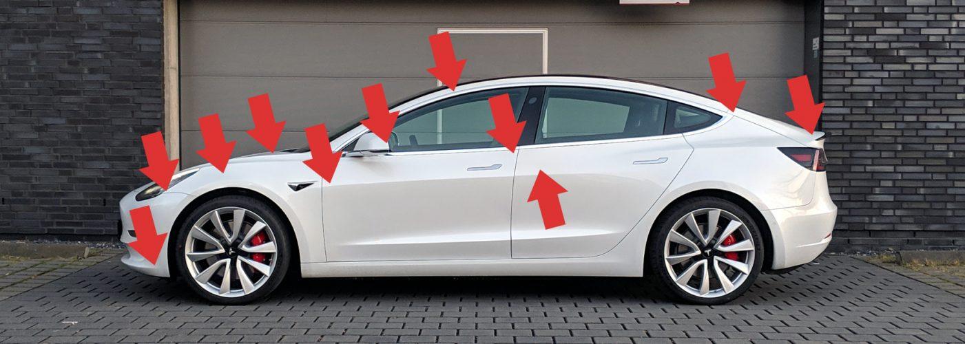 Tesla Model 3: Mängel bei der Auslieferung