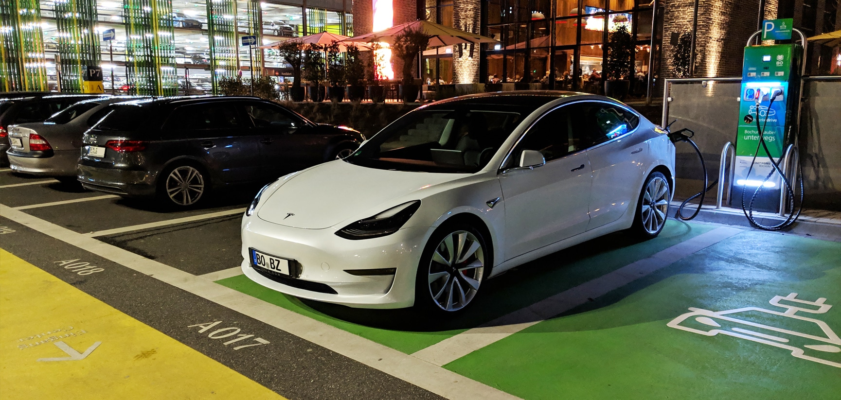 Tesla Model 3 am Tag 1