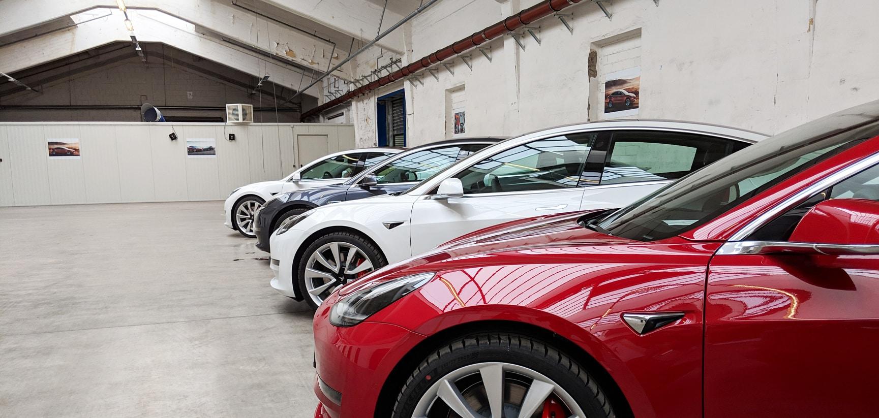 Tesla Model 3: Auslieferung