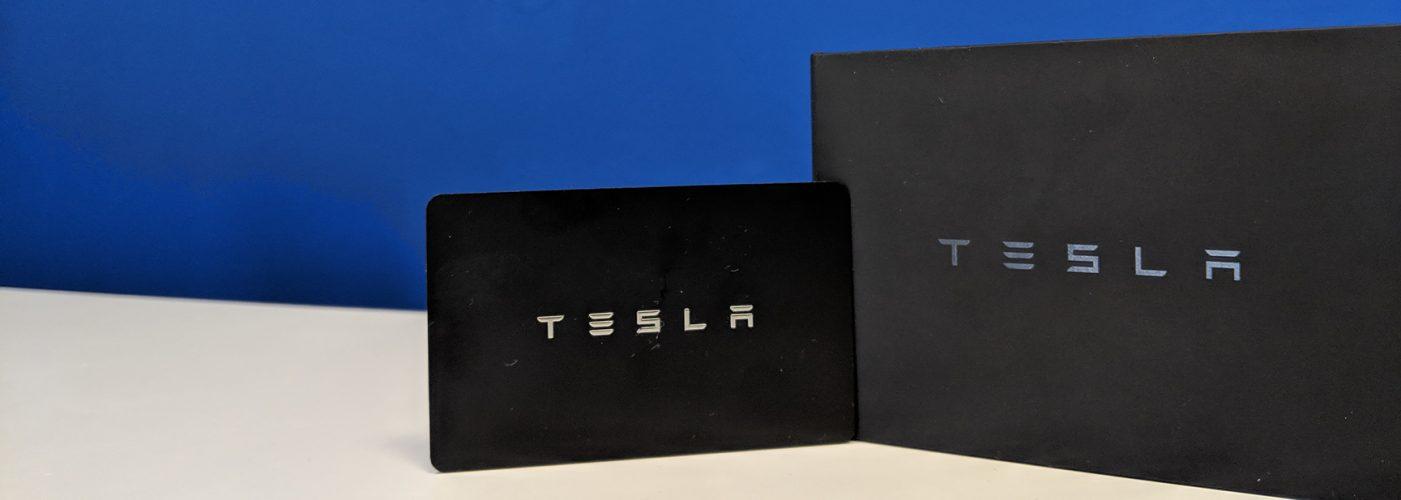 Tesla Model 3 Lieferumfang