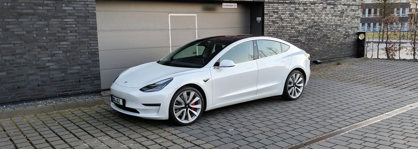 Tesla Model 30 Tage Test